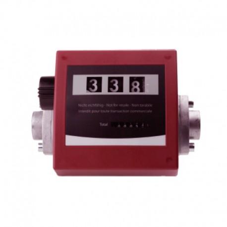 Medidor Mecânico 3 Digitos FMT Para Óleo Lubrificante 20 - 120 L/min
