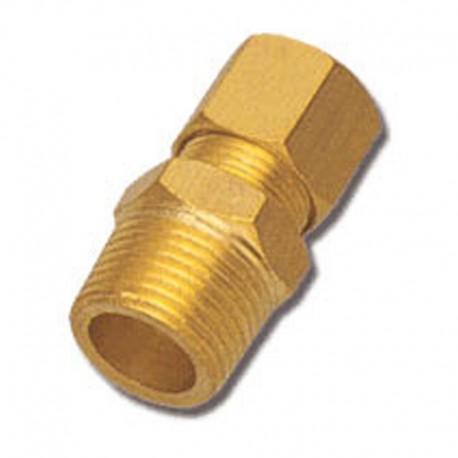 União Macho 4mm X M8 X 1 Cônica - 1 Peça