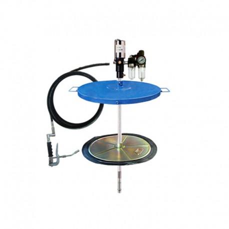 Propulsora pneumática para graxa tambor de 200 kg  Bremen e Acessórios - 1Kg / minuto.