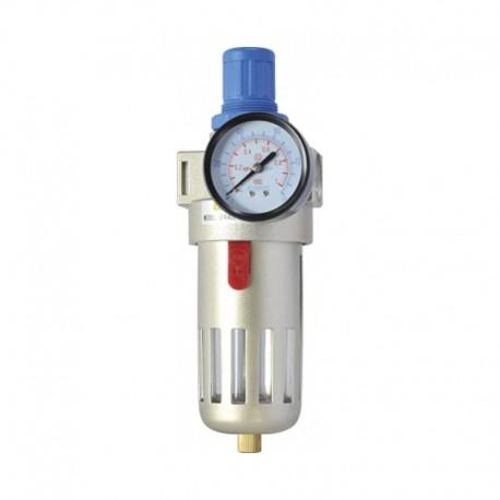 Filtro Regulador de Pressão C/ Manômetro 1/2 Pol - Baixa Pressão