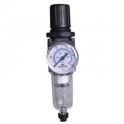Filtro Regulador de Pressão C/ Manômetro 1/8 Pol - Média Pressão