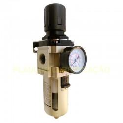 Filtro Regulador de Ar Comprimido 3/4 Pol - Média Pressão