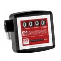Medidor mecânico PIUSI - K44 de 4 dígitos para óleo diesel e lubrificante