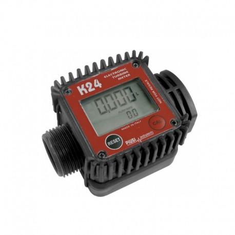 Medidor Digital Piusi K24 Para Combustíveis E.S. 1Pol BSP 120 L/min