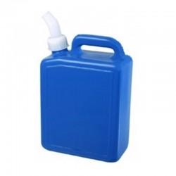 Galão de Plástico 5 Litros com Tampa e Bico Prolongado