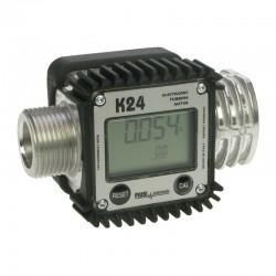 Medidor Digital p/ Combustível Piusi K24 em Alumínio 120 L/min