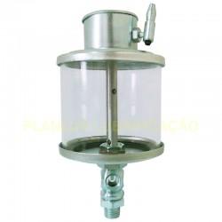 """Lubrificador por Gravidade Regulável - Cap 500 ml - 1/2"""" NPT"""