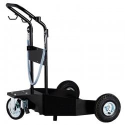 Carrinho Para Transporte de Tambor 200 Litros com freio - Drum Trolley