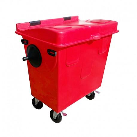 Contentor de Lixo 1000 Litros em Polietileno Rotomoldado