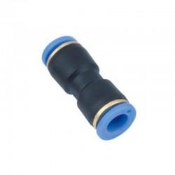 Conexão Pneumática União Reta Instantâneo - Tubo 10mm