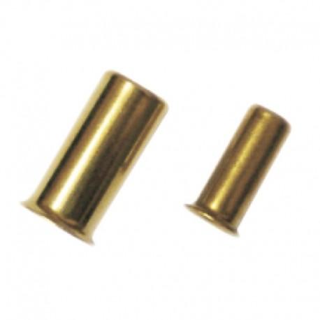 Inserto para Tubo Nylon Diâmetro Interno 4mm em Latão
