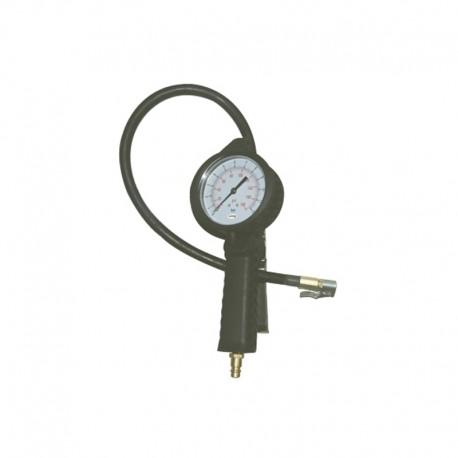 Calibrador Analógico Portátil em Alumínio p/ Pneus - 175 Libras
