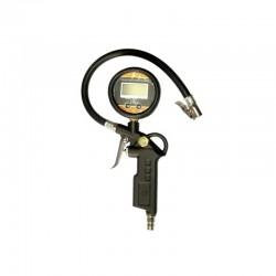 Calibrador Digital Portátil em Alumínio p/ Pneus - 100 Libras