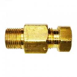 Flange e Luva p/ Tubo 4mm X 1-8 pol BSP em Latão