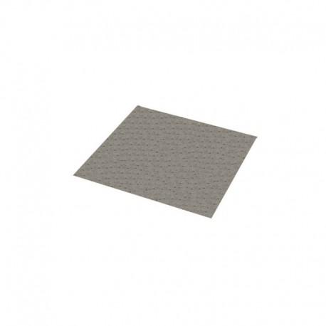 Toalha Absorvente Cinza P/ Vazamentos E Limpeza Óleo 40 Cm x 50Cm