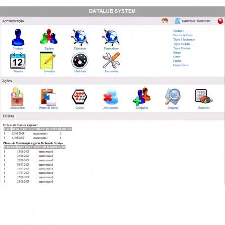 Software de Gestão da Lubrificação Datalub