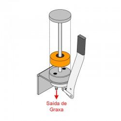 Bomba Manual de Pistão MCG-1 - Graxa