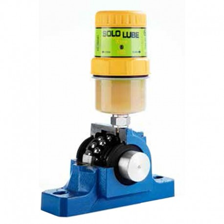 Lubrificador Automático Monoponto Eletromecânico Sololube Basic - 150 ml