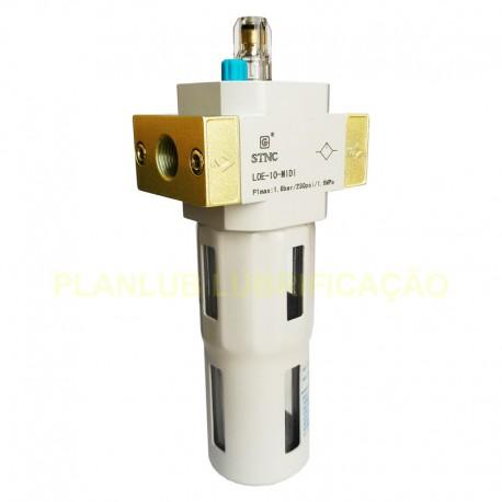 Lubrificador para Ar Comprimido 10 MIDI - 3/8 Pol
