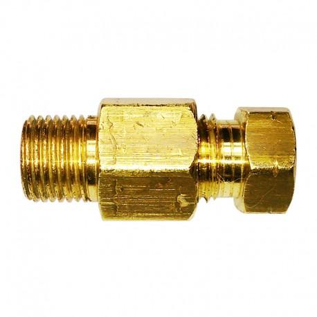 "Flange Luva p/ Distribuidor D6mm X 1/8"" BSP - 1 Peça"