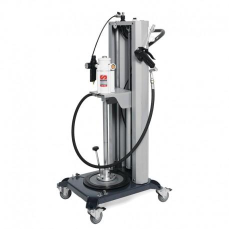 Elevador Pneumatico Para Compactacao De Graxa Nivel 3 - Adap. Balde 20Kg -C. Propulsora 60:1-1500Gpm