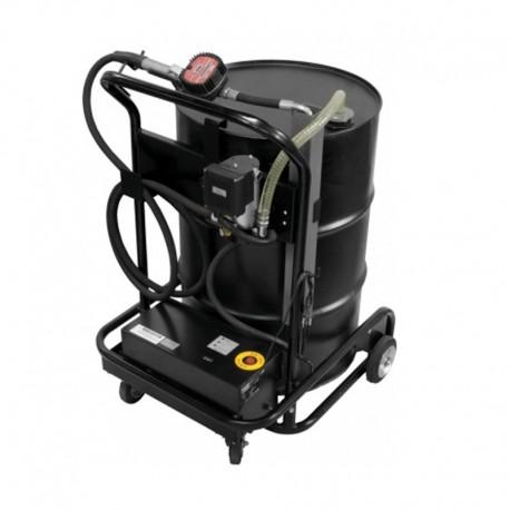 Unidade Móvel Recarregável - 12V - Oleo Lubrificante- Med.Digital - Adap.Tambor 200L - 6Lpm