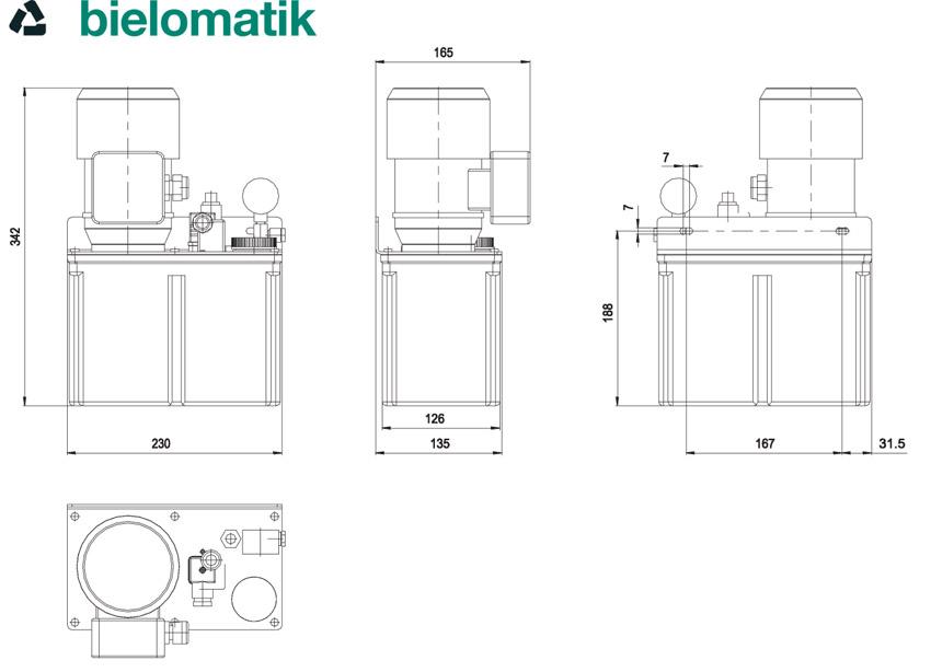 Lubrificação Centralizada - Bielomatik